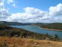 Yoga at Barragem da Bravura