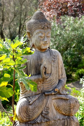 Buddha statue at Moinhos Velhos Retreat